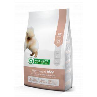 NATURE'S PROTECTION Mini Small breeds Junior 2-12 months Poultry Sausas pašaras šunims 2 kg
