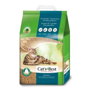 JRS Cats best sensitive sušokantis natūralus pjūveninis kraikas 20 l