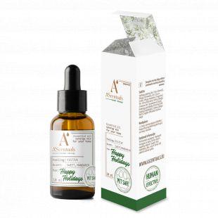A'SCENTUALS Herbal Therapy Happy Holidays namų kvapų eterinių aliejų mišinys, 10 ml