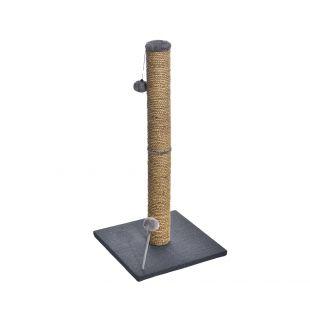 MADE4PETS draskyklė su bumbulu 38x38x81 cm, pilka