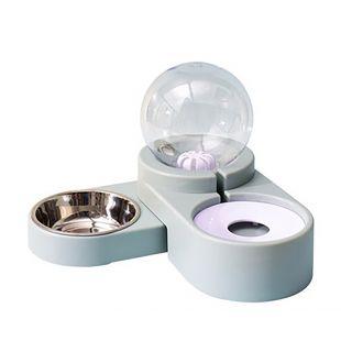 ELS PET gyvūnų gertuvė ir dubenėlis Burbulas 1.8 l, mėlyna