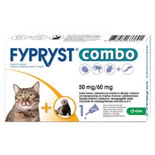 FYRPRYST Combo Tirpalas katėms ir šeškams 1 pip x 10