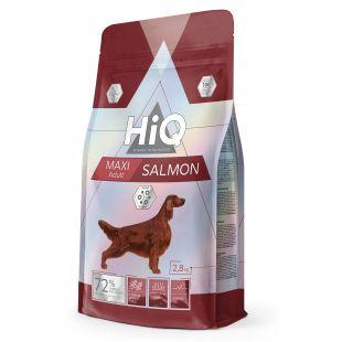 HIQ Maxi Adult Salmon Sausas pašaras šunims 2.8 kg
