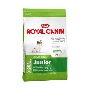 ROYAL CANIN X-small Junior Sausas pašaras šunims 1.5 kg