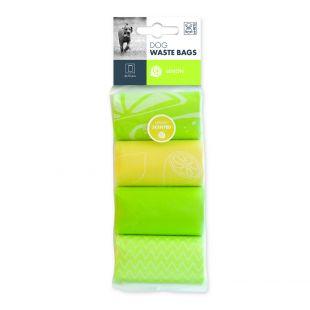M-PETS Šunų išmatų maišeliai citrinų kvapo, 60 vnt.