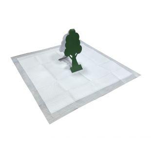 M-PETS Šunų pratinimo šlapintis priemonė, pastatomas 3D medelis 12.6x24.5 cm, 15 vnt