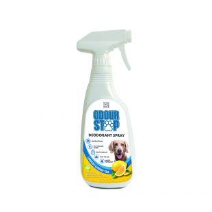 M-PETS Šunų antibakterinė priemonė kvapui naikinti žaliosios arbatos su citrina kvapo, 500 ml