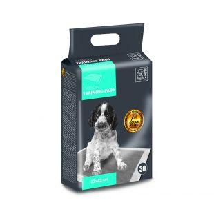 M-PETS Gyvūnų vienkartinės palos su anglies technologija, 33x45 cm, 30 vnt