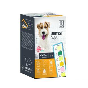 M-PETS Gyvūnų šlapimo testai 60x60 cm, 15 vnt.