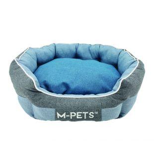 M-PETS Gyvūnų guolis mėlynas, 60x50x23 cm