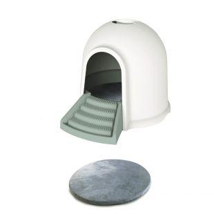 M-PETS Kačių tualetas pilkas, 45.7x59.7x43.2 cm