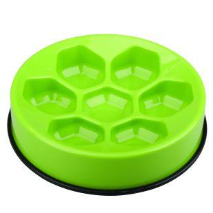 M-PETS Gyvūnų lėto maitinimo dubenėlis žalias