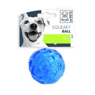 M-PETS Šunų kamuoliukas cypiantis, mėlynas, 6.3 cm