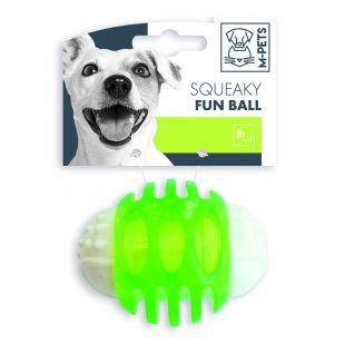 M-PETS Šunų žaislas cypiantis, žalias, 6.7 cm