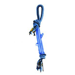 M-PETS Šunų žaislas susukta virvė įvairiaspalvis