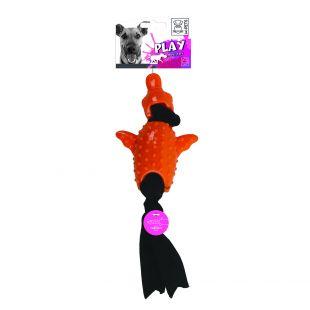 M-PETS Šunų žaislas, SIMONA vibruojantis, oranžinis