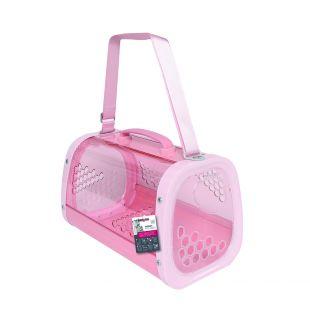 M-PETS Gyvūnų pernešimo krepšys rožinis, 59.1x38.1x35.4 cm