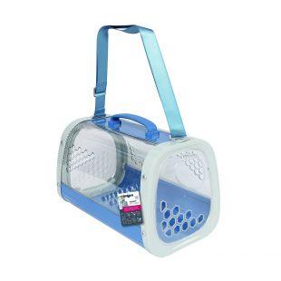 M-PETS Gyvūnų pernešimo krepšys mėlynas, 59.1x38.1x35.4 cm