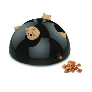 M-PETS Kačių žaislas, CATCH THE MOUSE juodas, 26x26x16 cm