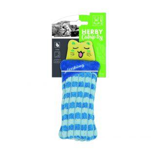 M-PETS Kačių žaislas, HERBY su katžole, 15x7x1.5 cm