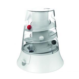 M-PETS Kačių žaislas, VORTEX interaktyvus, baltas, 22x19.7 cm