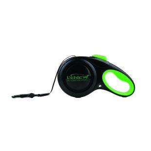 M-PETS Šunų automatinis pavadėlis L, žalias