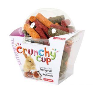 ZOLUX Skanėstai graužikams Crunchy Cup 180g