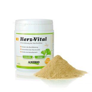 ANIBIO Herz-Vital šunų ir kačių pašaro papildas, širdies funkcijų palaikymui 330 g