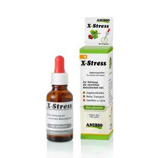 ANIBIO X-Stress šunų ir kačių pašaro papildas, nervinės sistemos stiprinimui 30 ml