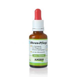 ANIBIO Ohrenpflege šunų ir kačių priežiūros priemonė, ausų valymu 30 ml