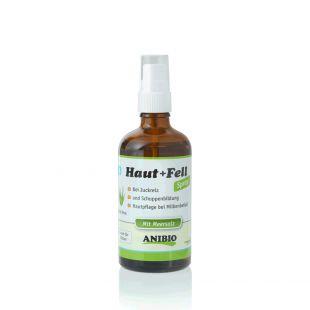 ANIBIO Haut + Fell Spray šunų ir kačių priežiūros priemonė - purškiklis, odos ir kailio priežiūrai 100 ml