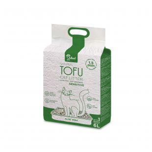 VELVET PAW TOFU kraikas jautrioms katėms, su alijošiaus ekstraktu,1,5 mm granulės