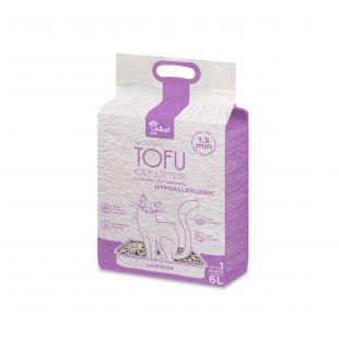 VELVET PAW TOFU kraikas į alergijas linkusioms katėms, su levandos ekstraktu, granulės, 1,5 mm granulės