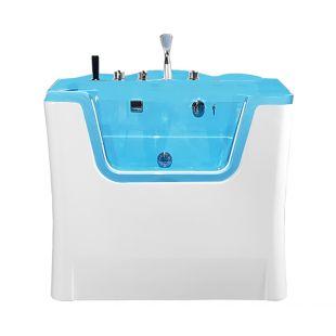 TAURO PRO LINE Ozono vonia gyvūnams, su MILK SPA programa, balta ir mėlyna