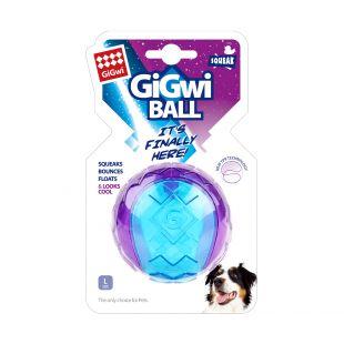 GIGWI Šunų žaislas Kamuolys cypiantis, violetinis, L