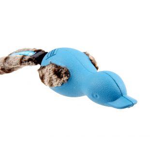 GIGWI Šunų žaislas Antis Push To Mute mėlyna