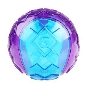 GIGWI Šunų žaislas Kamuolys cypiantis, violetinis, S