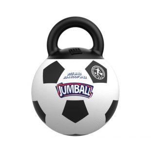 GIGWI Šunų žaislas Futbolo kamuolys baltas