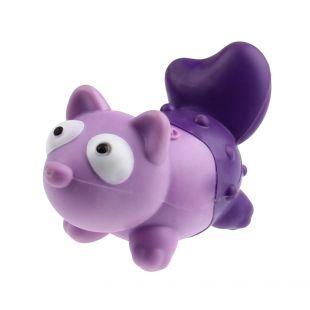 GIGWI Šunų žaislas Suppa Puppa Lapė guminis, rožinis