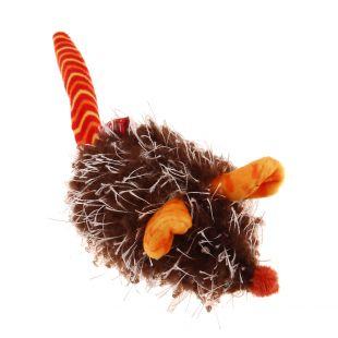 GIGWI Kačių žaislas Pelė pliušinė, interaktyvi, oranžinė