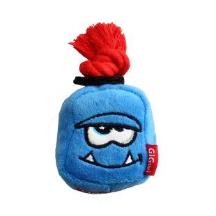 GIGWI Šunų žaislas Monstras cypiantis, mėlynas, S
