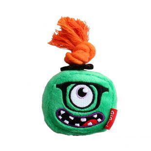 GIGWI Šunų žaislas Monstras cypiantis, žalias, S
