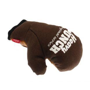 GIGWI Šunų žaislas Bokso pirštinė rudas, L