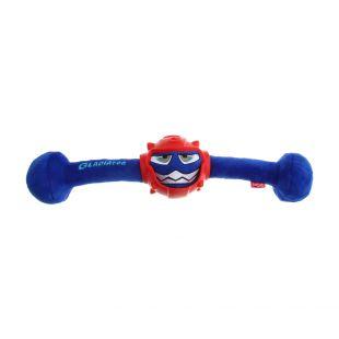 GIGWI Šunų žaislas-kramtukas Gladiatorius cypiantis, mėlynas