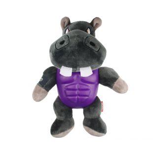 GIGWI Šunų žaislas Herojus cypiantis, pilkas