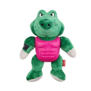 GIGWI Šunų žaislas Herojus cypiantis, žalias