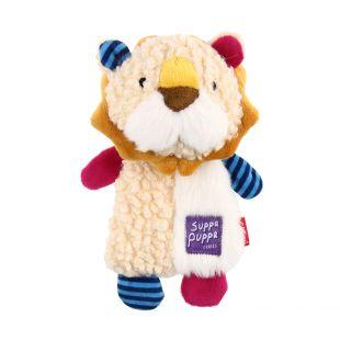 GIGWI Šuniukų žaislas Liūtas cypiantis, geltonas