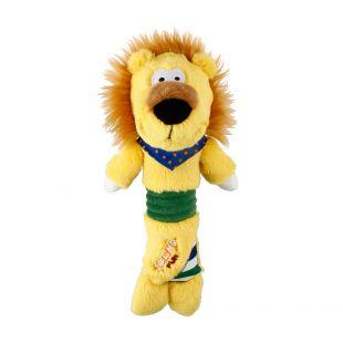 GIGWI Šunų žaislas Liūtas pliušinis, cypiantis