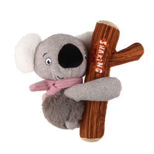 GIGWI Šunų žaislas Koala pliušinis, cypiantis