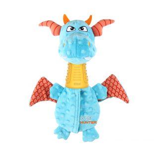 GIGWI Šunų žaislas Drakonas dispenseris, mėlynas